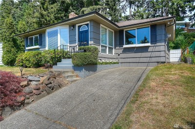 Fircrest Single Family Home For Sale: 341 Del Monte