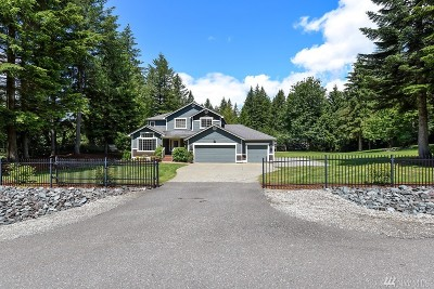 North Bend Single Family Home Contingent: 43712 SE 168th St