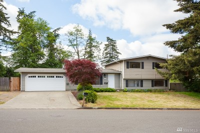 Federal Way Single Family Home For Sale: 2801 SW 315th St