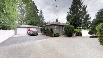 Spanaway Single Family Home For Sale: 658 169th St S