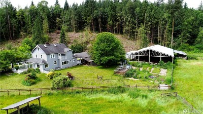 Snohomish Farm For Sale: 4726 211th Ave SE