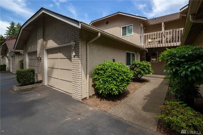 Edmonds Condo/Townhouse For Sale: 7730 196th St SW #6