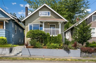 Seattle Single Family Home For Sale: 6015 8th Ave NE