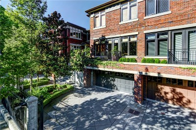 King County Condo/Townhouse For Sale: 719 Harvard Ave E