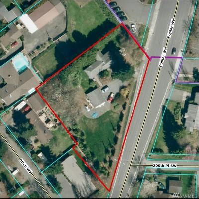 Lynnwood Residential Lots & Land For Sale: 19930 Poplar Wy