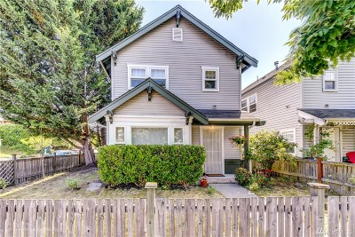Seattle Single Family Home For Sale: 1300 Martin Luther King Jr. Wy S