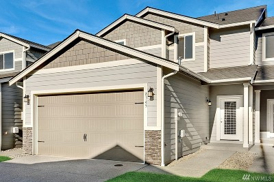 Puyallup Single Family Home For Sale: 8345 175th St Ct E #Lot34