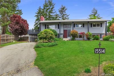 Single Family Home For Sale: 15514 NE 54th Pl