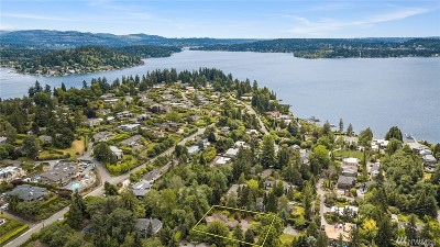 Medina Single Family Home For Sale: 8212 Overlake Dr W