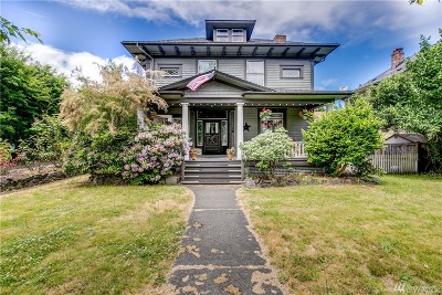 Tacoma Single Family Home For Sale: 1509 N 5 St