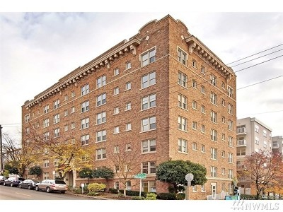 King County Condo/Townhouse For Sale: 505 E Denny Wy #206