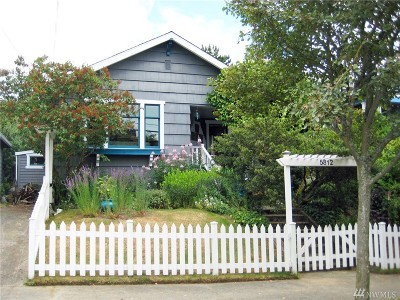 Seattle Single Family Home For Sale: 5812 Greenwood Ave N