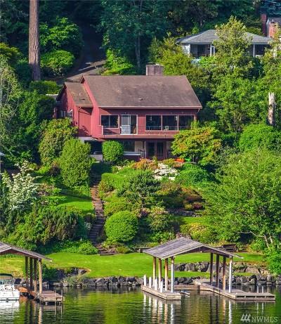 Bellevue Single Family Home For Sale: 9312 SE Shoreland Dr