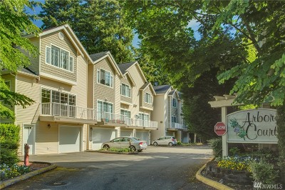 King County Condo/Townhouse For Sale: 17902 NE 90th St
