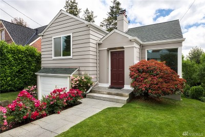 Seattle Single Family Home For Sale: 6052 35th Ave NE