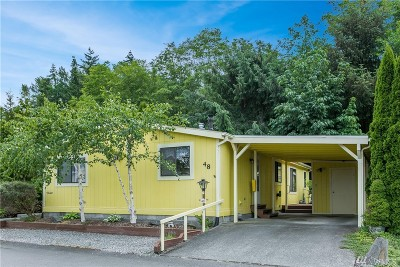 Bellingham Mobile Home For Sale: 2015 24th St #48
