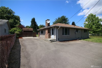 Tukwila Single Family Home For Sale: 11837 44th Ave S