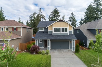 Spanaway Single Family Home For Sale: 2005 184th St Ct E