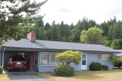 Single Family Home For Sale: 26151 N Us Highway 101