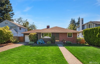 Seattle Single Family Home For Sale: 13401 Corliss Ave N