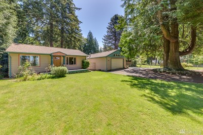 Shoreline Single Family Home For Sale: 19550 8th Ave NW