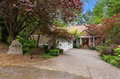 Pierce County Single Family Home For Sale: 4808 130th St Ct NW