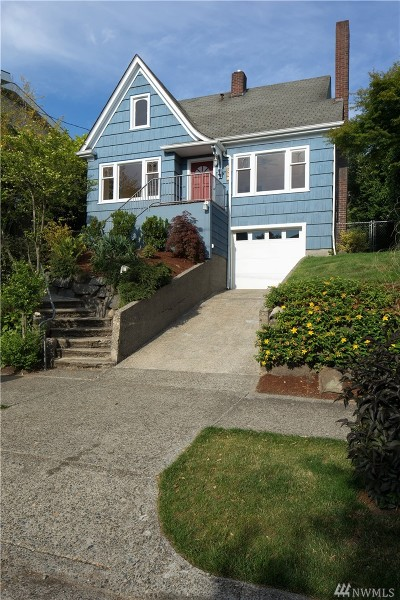 Seattle Single Family Home For Sale: 8348 16th Ave NW