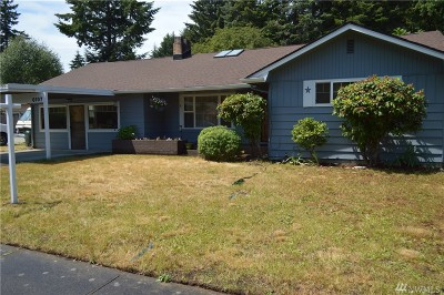 Tumwater Single Family Home For Sale: 6107 Esther St SW