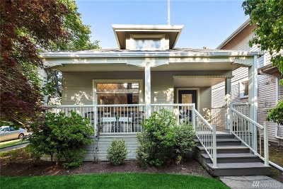 Seattle Single Family Home For Sale: 1536 2nd Ave W