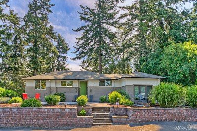 Burien Single Family Home For Sale: 14430 22nd Ave SW