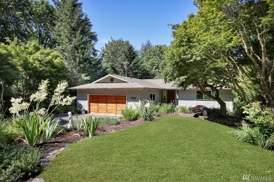 Gig Harbor Single Family Home For Sale: 10014 Gig Harbor Dr NW