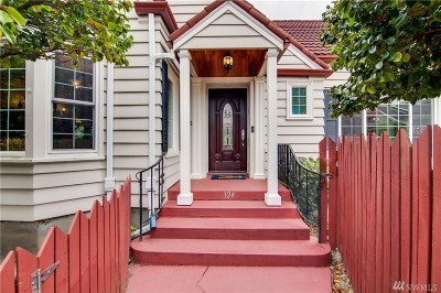 Tacoma Single Family Home For Sale: 324 N Yakima Ave