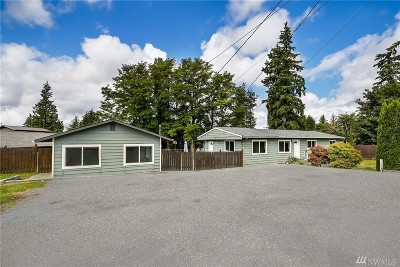 Lynnwood Single Family Home For Sale: 20812 Hubbard Rd