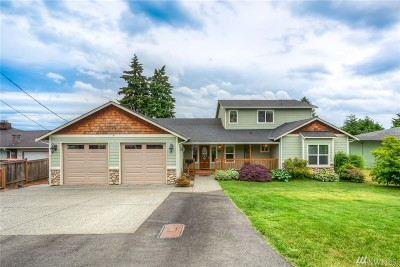 Everett Single Family Home For Sale: 5017 View Dr