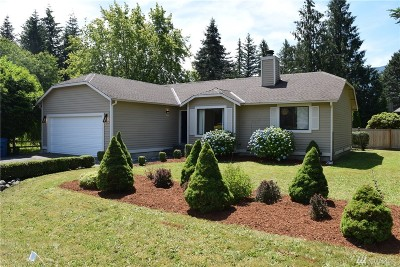 North Bend WA Single Family Home For Sale: $436,500