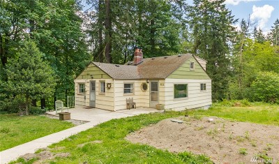Federal Way Single Family Home For Sale: 7018 Johnson Rd NE