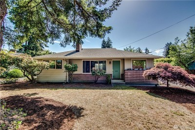 Fircrest Single Family Home For Sale: 443 Alameda Ave