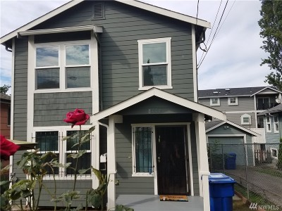 Seattle Single Family Home For Sale: 8333 Wolcott Ave S