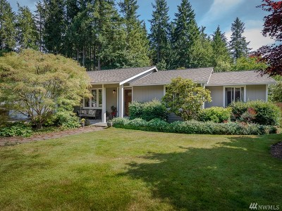 Gig Harbor Single Family Home For Sale: 3416 107th St NW