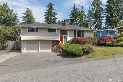 Lynnwood Single Family Home For Sale: 5407 189th St SW