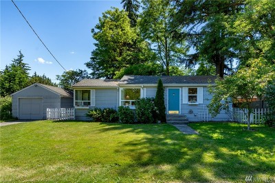 Seattle Single Family Home For Sale: 1917 NE 143rd St