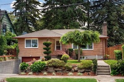 Seattle Single Family Home For Sale: 3937 S Burns St