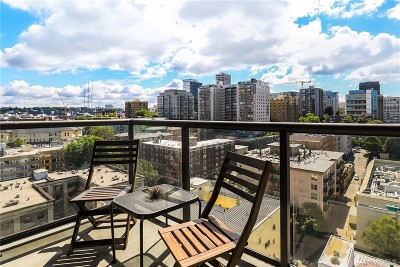 Seattle Condo/Townhouse For Sale: 1420 Terry Ave #1905