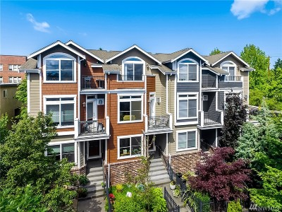 Seattle Single Family Home For Sale: 209 18th Ave E #B