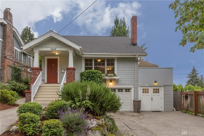 Seattle Single Family Home For Sale: 2314 E Lynn St