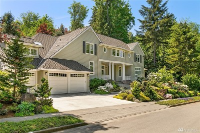 Bellevue Single Family Home For Sale: 17345 SE 54th Place