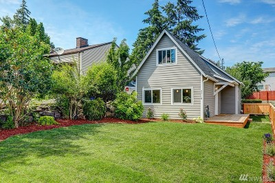 Seattle Single Family Home For Sale: 3710 SW 106th St