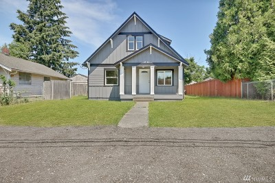 Tacoma Single Family Home For Sale: 1511 S 58th St