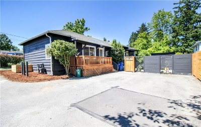 Seattle Single Family Home For Sale: 1208 NW 100th Street