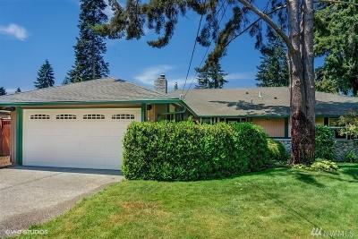 Bellevue WA Single Family Home For Sale: $999,999